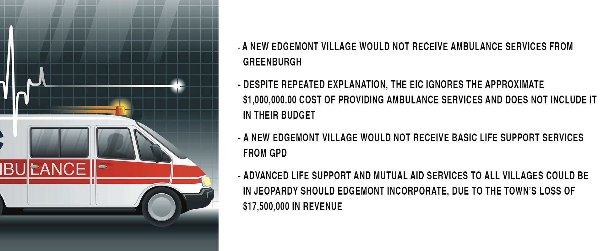 Ambulance Service, Edgemont Community